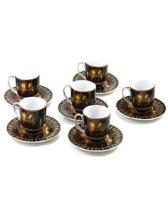 $124.99 Hand-painted Limoges Tea Set, 'Basset'  From Fathi Mahmoud   Get it here: http://astore.amazon.com/claireturn78-20/detail/B007E0BMCE/191-6348972-2337913