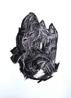 Torn Oil and acrylic on canvas 50 x 70 https://www.facebook.com/erikamarchipainter www.erikamarchi.it #madeinitaly #art #mood #erikamarchi #style #minimal #artist #artmadeinitaly #minimale #blackandwhite  #italy #minimalart #bw #abstract #minimalist #sign #torn