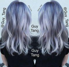 Die 68 Besten Bilder Von Grau Blau Haarfarben Frisuren