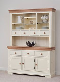 Country Cottage Painted Large Dresser