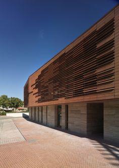 Biblioteca Comunale Greve in Chianti by MDU / AT'12 / Premio Architettura Territorio Fiorentino 2012 / © Pietro Savorelli
