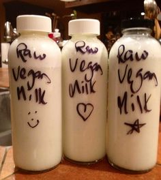 How to Easily Make a Raw Vegan Milk Your Family Will Love » Kristen's Raw