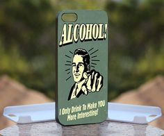 Drink Alcohol Beer Vintage, Print on Hard Cover iPhone 4/4S Black Case | MonggoDiTumbas - Accessories on ArtFire