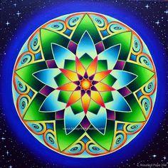 °Number 9 Mandala ~ Attainment, Solar Power Evolution, Unconditional Love