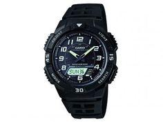 Relógio Masculino Casio Anadigi - Resistente à Água Cronômetro AQ-S800W-1BVDF