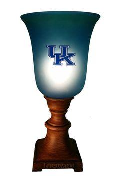 NCAA TORSHIERE UPLIGHT LAMP KENTUCKY