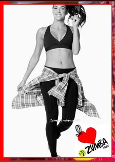 ZUMBA CONVENTION EXCLUSIVE INSTRUCTOR FLANNEL Shirt Top~KISSED Z3T00SUNK #Zumba #ShirtsTops