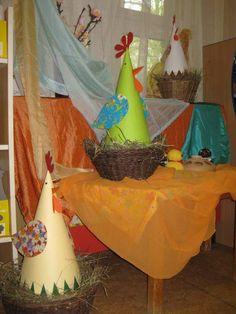 Dékány Mónika Tavaszi és húsvéti dekorációnk!  Körmend Dienes Lajos óvoda,Csiga csoport!
