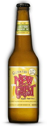 New Grist Pilsner Style Gluten Free Beer