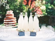 Summer Bridal shower | Photo by D Arcy Benincosa |  Le Loup Cake | Read more - http://www.100layercake.com/blog/?p=76837
