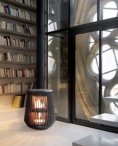 Contemporary stove by Invicta - Ilot
