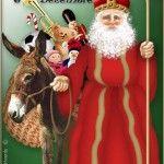 Photo of ★ St. Nicholas ☆ for fans of Christmas 32966024 Father Christmas, Christmas Art, Christmas And New Year, Vintage Christmas, Christmas Holidays, German Christmas, Santa Claus Story, Santa Clause, St Nicholas Day