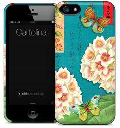 Cartolina iPhone case - Hydrangeas