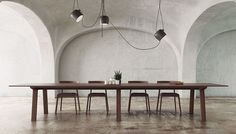 MITIS TABLE by PUNT available at Haute Living