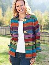 Women's Cotton SunStripe Jacket | Norm Thompson