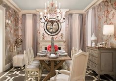 Chinoiserie -- the combination of Chinese and French design -- is simply one of my favorites.
