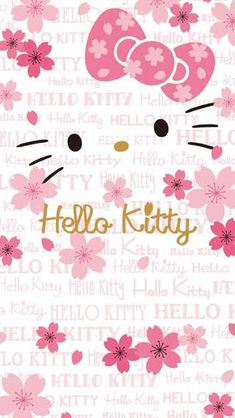 Birthday Background Wallpapers Pink Hello Kitty 64 Ideas For 2019 Hello Kitty Nails, Birthday Background Wallpaper, Party Background, Iphone Hintegründe, Pink Iphone, Hello Kitty Iphone Wallpaper, Presents For Grandma, Cupcake Pictures, Backgrounds
