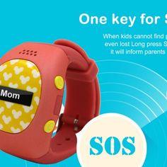 RWATCH R9 Children Tracker Smartwatch Phone – Location, SOS Button, Pedometer, Alarm, Remote Monitor.