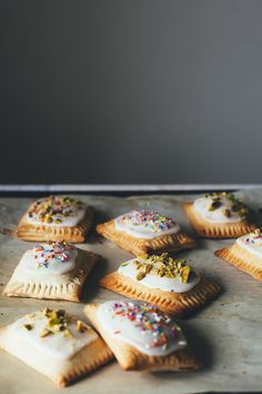 pistachio pop tarts