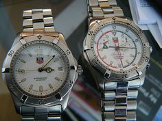 TAG Heuer 2000 and Searacer