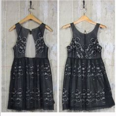 Free People Black mini size 6 Worn once, excellent condition!! Free People Dresses Mini