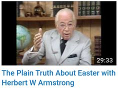 The World Tomorrow Television Program with Herbert W. Armstrong Booklets offered: The Plain Truth About