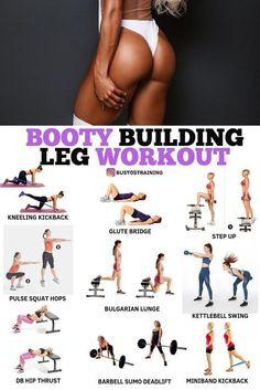 Booty Building Leg Workout! - #Booty #Building #Leg #workout