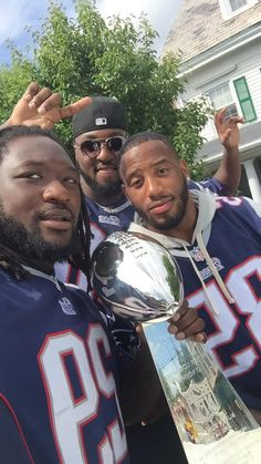 Blount, Gray and Moore #PatriotsNation