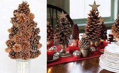 adornos navideños rusticos - Buscar con Google