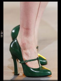 Marc Jacobs in green