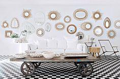 Décoration intérieure: 7 façons d'agrandir l'espace avec un miroir - Marie Claire Maison