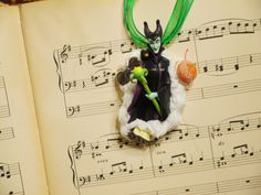 Maleficent Decoden Necklace Kawaii Whipped Cream and Candy Desserts Chocolate