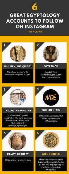 6 Great Egyptology Accounts to Follow on Instagram