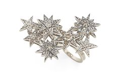 Genesis H.Stern collection. Pleiades ring in Noble Gold with diamonds.