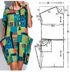 - Best Sewing Tips Dress Sewing Patterns, Clothing Patterns, Fashion Sewing, Diy Fashion, Origami Fashion, Fashion Details, Hijab Fashion, Sewing Clothes, Diy Clothes
