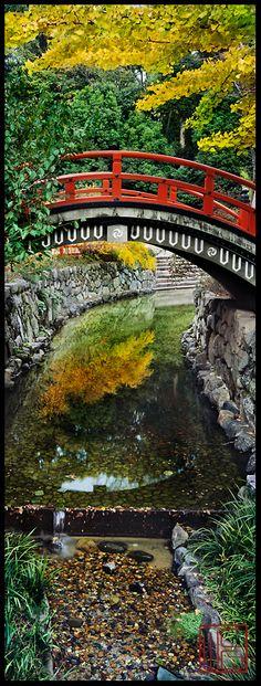 Bridge at the Shimogamo Shrine