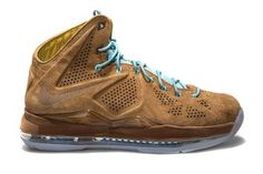 Lebron 10 EXT BROWN SUEDE HAZELNUT