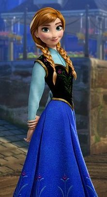 Meet Anna, the new Disney Princess. #Frozen. Is it bad that I'm excited for the next Disney princess movie? Lol
