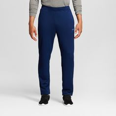 Men's Training Pants Dark Night - C9 Champion Blue L x 32, Dark Night Blue