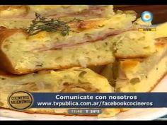 Esponja argentina de jamón y queso!! - YouTube