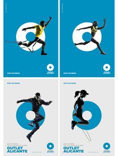 Outlet alicante // must por menos sport poster design layout, graphic desig Sports Graphic Design, Graphic Design Posters, Graphic Design Inspiration, Gfx Design, Logo Design, Print Design, Text Layout, Crea Design, Creative Design