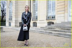 Emma Roberts at the Christian Dior Autumn/Winter ready-to-wear collection fashion show during Christian Dior 2014, Pop Fashion, Fashion Show, Fall Winter, Autumn, Emma Roberts, Ready To Wear, Celebrities, How To Wear