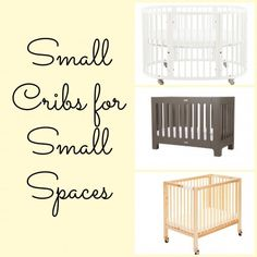 8 Small Cribs for Tiny Living Spaces.