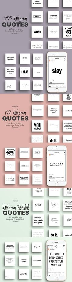 Entrepreneur Social Media Quotes by Nebula Design Studios on @creativemarket