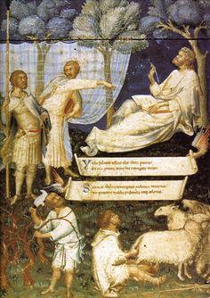 Frontispiece to Petrarch's Virgil, mid-14th SIMONE MARTINI (Siena, 1284 circa – Avignone, 1344)    #TuscanyAgriturismoGiratola