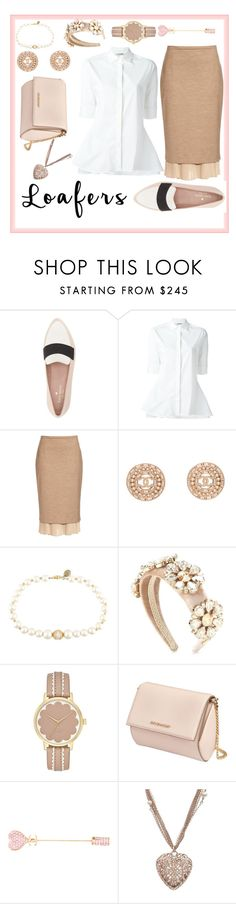 """""""Loafers"""" by abbey-santoro ❤ liked on Polyvore featuring Kate Spade, Neil Barrett, MaxMara, Chanel, Dolce&Gabbana, Givenchy and loafers"""