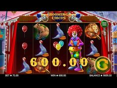 This 5 reel, 4 row and 15 payline slot sees lucky players profit up to 10 000x their stake! Great graphics, superb gameplay, Multiplying Wilds and tons of Free Spins combine to form a pleasurable recipe for enjoyment and winning! So take a break and join the Booming Circus action today! #slots #casino Online Casino Slots, Casino Slot Games, Casino Sites, Best Online Casino, Online Casino Bonus, Circus Game, Top Casino, Online Games, Games To Play