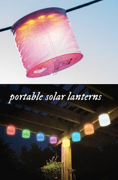 An easy-to-use, elegant high-quality portable solar lantern that is lightweight, maintenance-free and waterproof.