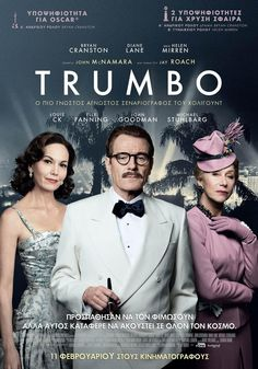 Directed by Jay Roach. With Bryan Cranston, Diane Lane, Helen Mirren, Louis C. In Dalton Trumbo was Hollywood's top screenwriter, until he and other artists were jailed and blacklisted for their political beliefs. 2015 Movies, Hd Movies, Movies Online, Movies And Tv Shows, Movie Tv, Watch Movies, Movies Free, Bryan Cranston, Kirk Douglas