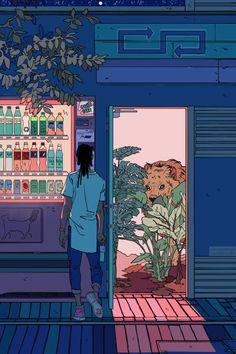 Reincarnation Mini Art Print by Cassandra Jean - Without Stand - x Aesthetic Art, Aesthetic Anime, Arte 8 Bits, Cassandra Jean, Creation Art, Japon Illustration, Wow Art, Anime Scenery, Cute Art